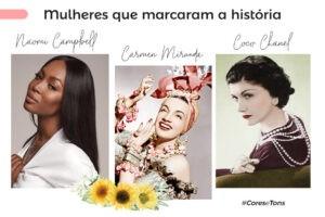 Mulheres que marcaram a história da moda