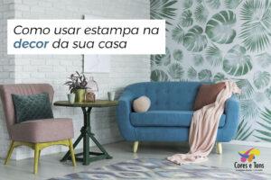 Como usar estampa na decor da sua casa
